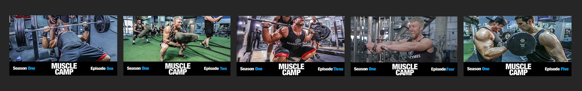 Muscle Camp TV Episodes